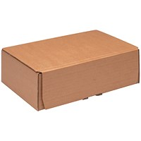 Mailing Box 245x150x33mm Brown (Pack of 20) 43383249