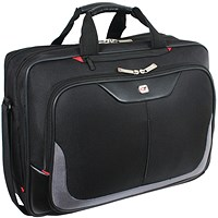 Gino Ferrari Enza Laptop Business Bag Black (Suitable for laptops upto 16 inches)