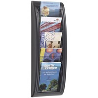 Fast Paper Quick Fit System Wall Display 5 x A5 Black