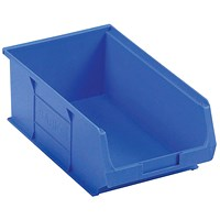 Barton TC4 Small Parts Container Semi-Open Front Blue 9.1L 205x350x132mm (Pack of 10) 010041