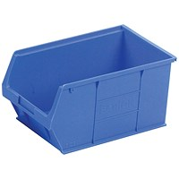 Barton Tc5 Small Parts Container Semi-Open Front Blue 12.8L (Pack of 10) 010051