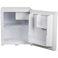 Igenix 47 Litre Counter Top Fridge with Lock White