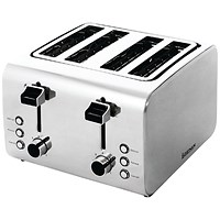 Igenix Toaster 4-Slice (Stainless steel finish with varying heat settings)