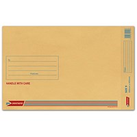 GoSecure Bubble Lined Envelope Size 9 300x445mm Gold (Pack of 50) ML10058