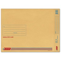 GoSecure Bubble Lined Envelope Size 10 350x445mm Gold (Pack of 50) ML100062