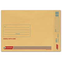GoSecure Bubble Lined Envelope Size 8 270x360mm Gold (Pack of 50) ML10066