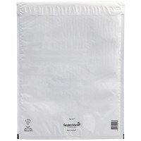 Mail Lite Tuff Size K/7 Sealed Air Mail Bag, 350x383mm, White, Pack of 50