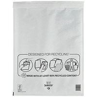 Mail Lite Bubble Lined Postal Bag, White, 350x470mm, Pack of 50