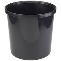 Avery Polypropylene Waste Bin 20 Litre Black