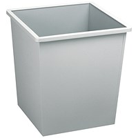 Avery Steel Bin Square 27L Grey
