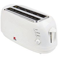 MyCafe White 4 Slice Toaster (Reheat, defrost and cancel buttons)