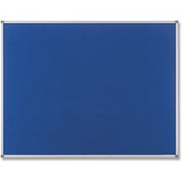Nobo Classic Blue Felt Noticeboard 600x450mm