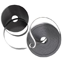 Nobo Magnetic Self-Adhesive Tape 10mmx10m Black