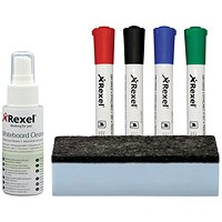Nobo Quartet Whiteboard Cleaning Kit