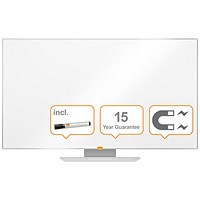 Nobo Widescreen Enamel Whiteboard 55 Inch