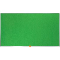 Nobo Widescreen 85inch Green Felt Noticeboard 1880x1060mm