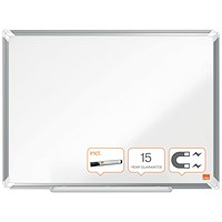 Nobo Premium Plus Magnetic Steel Whiteboard 1200 x 900mm