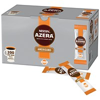 Nescafe Azera Americano Instant Coffee Sachets - Pack of 200