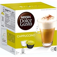 Dolce Gusto Cappuccino Capsules - 24 Servings