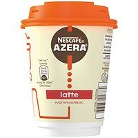 Nescafe & Go Azera Latte Cups (Pack of 6)
