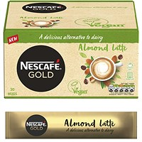 Nescafe Gold Almond Latte 16g (Pack of 30)