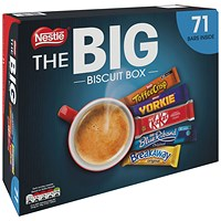 Nestle Big Chocolate Biscuit Box - Pack of 71 Assorted Bars