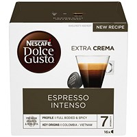 Dolce Gusto Espresso Intenso Capsules - 48 Servings