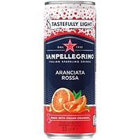 San Pellegrino Sparkling Blood Orange - 24 x 330ml Cans