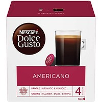 Dolce Gusto Caffe Americano - 48 Servings
