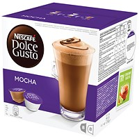 Dolce Gusto Mocha Capsules - 24 Servings
