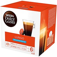 Dolce Gusto Lungo Decaffeinated Capsules - 48 Servings