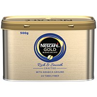 Nescafe Gold Blend Instant Decaffeinated Coffee - 500g Tin