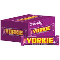 Nestle Yorkie Raisin and Biscuit 44g (Pack of 24)