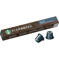 Starbucks Decaf Espresso Coffee Pods (Pack of 10)