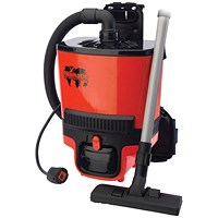 Numatic RucSac Backpack Vacuum Cleaner Red RSB.140