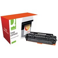 Q-Connect Compatible Solution HP 304A Black Laserjet Toner Cartridge CC530A
