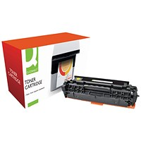 Q-Connect Compatible Solution HP 304A Yellow Laserjet Toner Cartridge CC532A