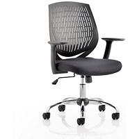 Dura Operator Chair, Black, Built