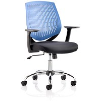 Dura Operator Chair, Blue, Built