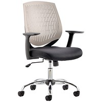 Dura Operator Chair, Grey, Built