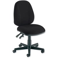 Eclipse 2 Lever Operator Chair - Black