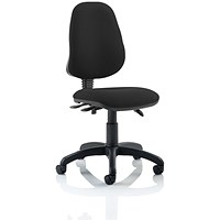 Eclipse III Lever Task Operator Chair - Black