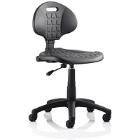 Malaga Standard Lab Chair / Black / Built