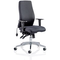 Onyx Ergo Posture Chair, Black, Built