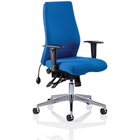 Onyx Ergo Posture Chair, Blue, Built