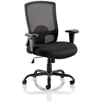 Portland Heavy Duty Operator Chair, Black, Built