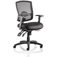 Portland III Operator Chair, Black, Built