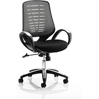 Sprint Airmesh Operator Chair / Silver Back / Built