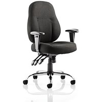 Storm Operator Chair, Black, Built