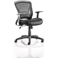 Zeus Task Operator Chair, Black, Built